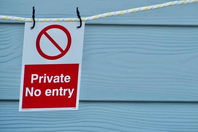 Contoh warning sign 1