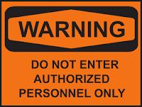 Contoh warning sign 15