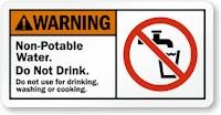 Contoh warning sign 16