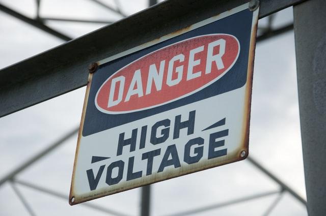 Contoh warning sign 4