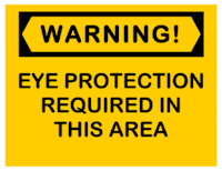 Contoh warning sign 5