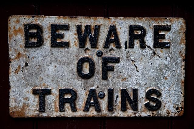 Contoh warning sign 7