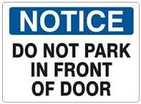 Contoh notice bahasa inggris 7