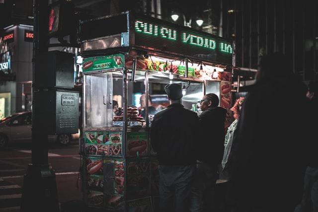street vendor adalah