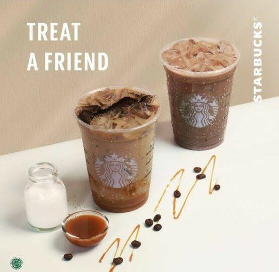 Contoh Iklan Niaga Minuman Starbuck Indonesia