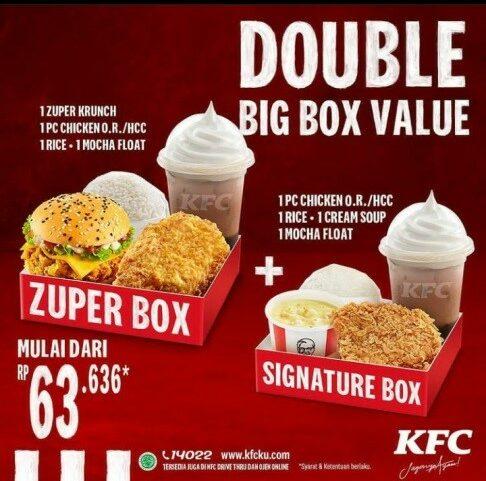 Contoh Iklan Niaga Produk Makanan KFC Indonesia