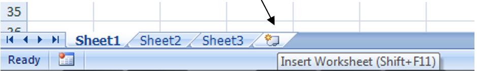 Cara Menambahkan Worksheet dalam Satu Workbook
