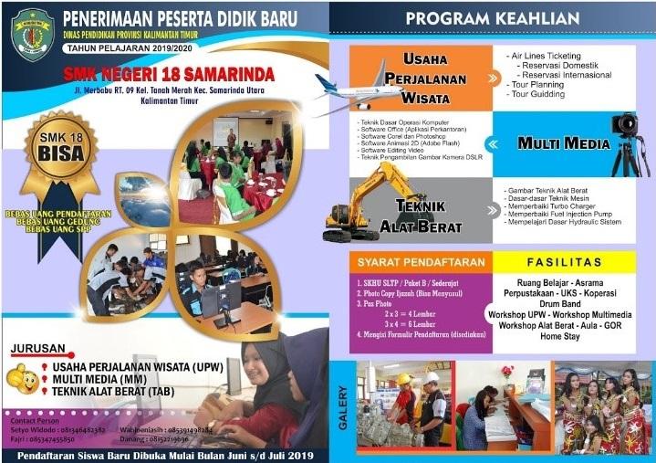 Contoh Iklan Pendidikan beserta gambarnya SMK