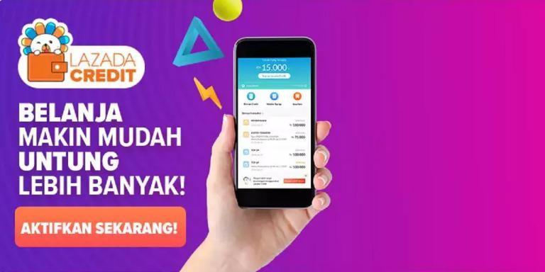 Contoh iklan komersial aplikasi smartphone Lazada