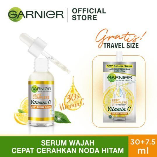 Contoh iklan komersial kosmetik Garnier serum Cream
