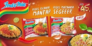 Contoh iklan komersial makanan Indomie