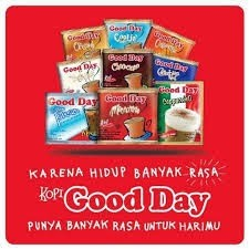 Contoh iklan komersial minuman kopi Goodday