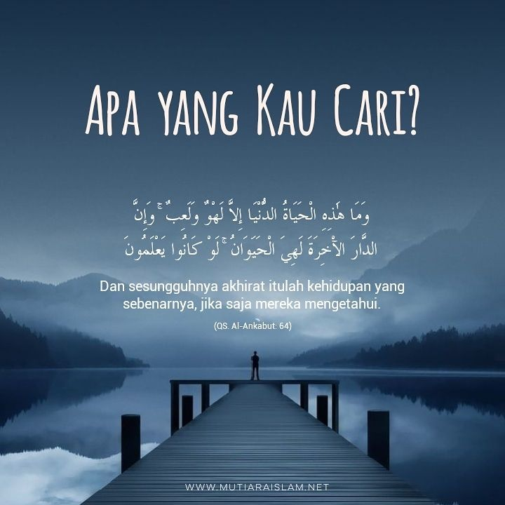 Motto Hidup Islami Tentang Kehidupan