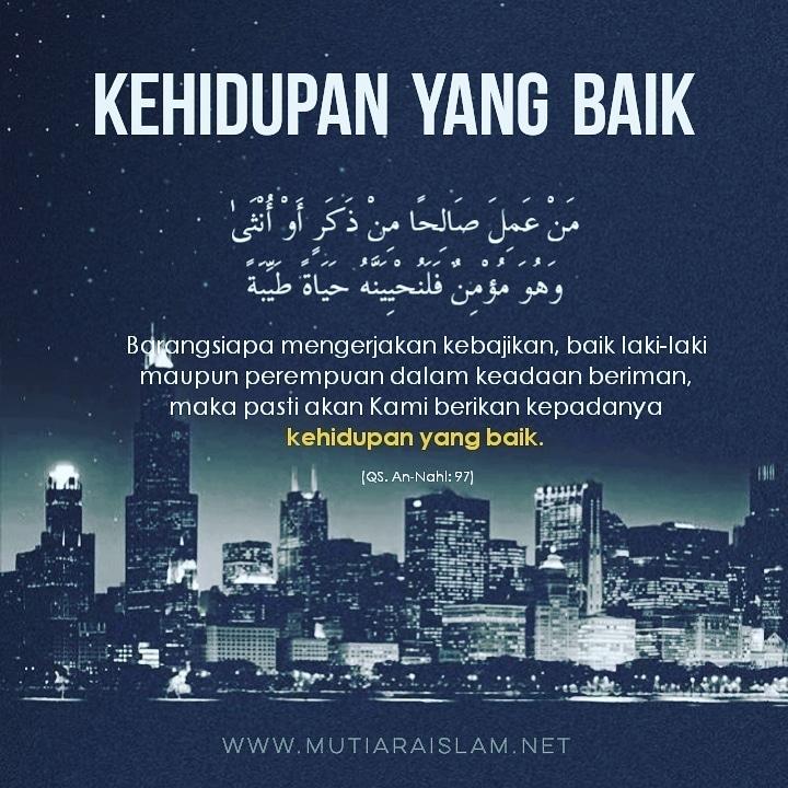 Motto Hidup Islami Tentang Kehidupan 3