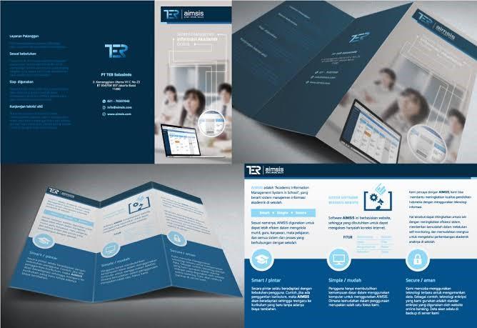 Contoh Gambar Reklame Leaflet