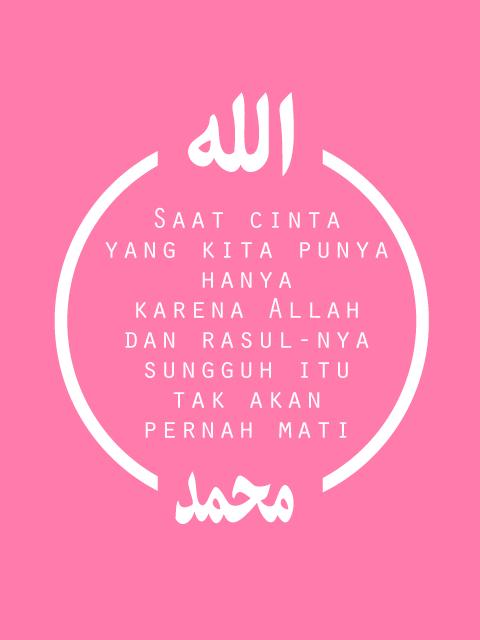 Motto Hidup Islami Tentang Cinta 16