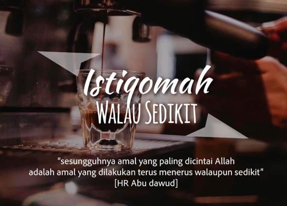 Contoh Kata-kata Istiqomah 2