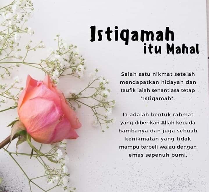 Contoh Kata-kata Istiqomah 8